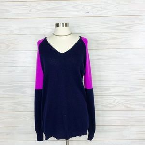 Aqua Bloomingdales Sweater Cashmere Long Sleeve  M